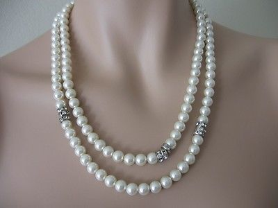 Faux pearl necklace from MIMCO, 2 strands $67 http://cgi.ebay.com.au/ws/eBayISAPI.dll?ViewItem&item=261324601055