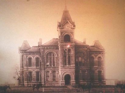 1897 Angleton, Brazoria Co, TX Courthouse