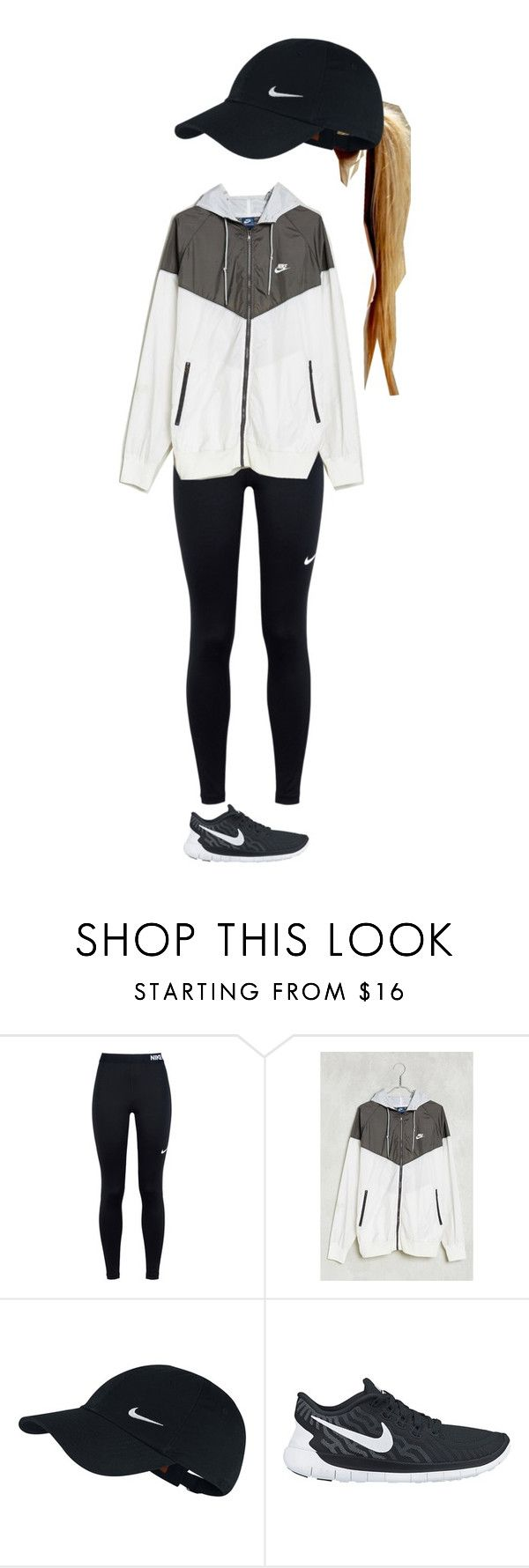 """ready for football season!"" by kyleemorrison ❤ liked on Polyvore featuring NIKE and Without Walls"