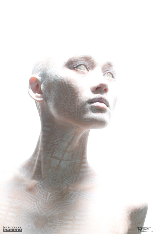 "Saatchi Online Artist: Michael Rosner; Airbrush, Painting ""Transhuman II"""