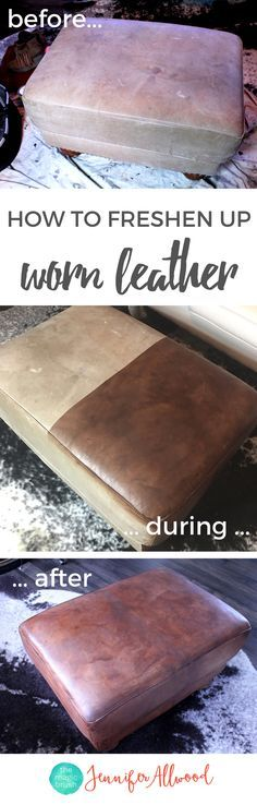 How to Restore Leather Furniture with ReLuv Leather Paint | Fix Worn out Leather Furniture  | Painting Tips from theMagicBrushinc.com | How to Fix Furniture