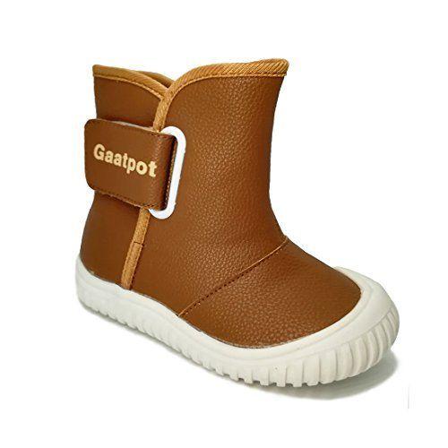 Oderola Bottes de Neige Bébé Garçon Fille Premiers Pas chaud hiver Enfant Bottines Chaussures étanche boots: Chevillère collaboratif et…