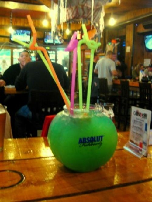 You know you really live in the boonies when you haven't heard of fishbowl drinks!!!