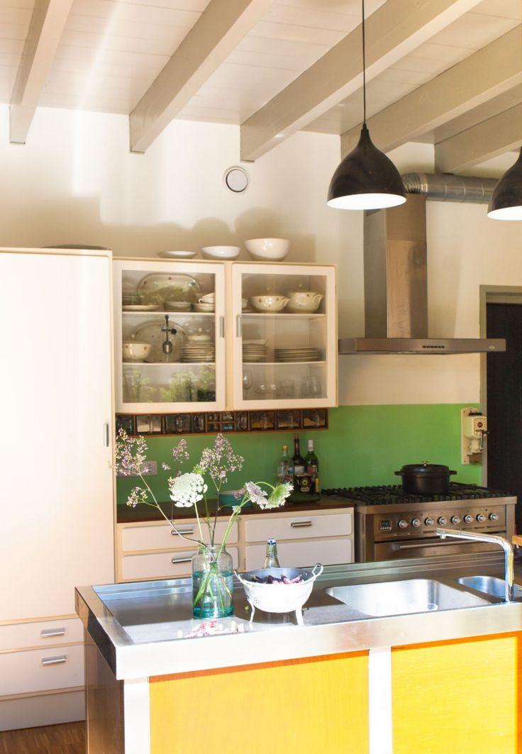 25+ beste ideeën over Gele keukens op Pinterest - Gele keukenmuren ...