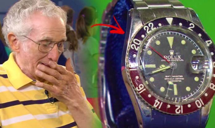Ο Παππούς Έφερε ένα Rolex-αντίκα σε μια Έκθεση! Συγκλονισμένος δεν Μπορούσε να Πιστέψει ότι η Αξία του Ήταν…