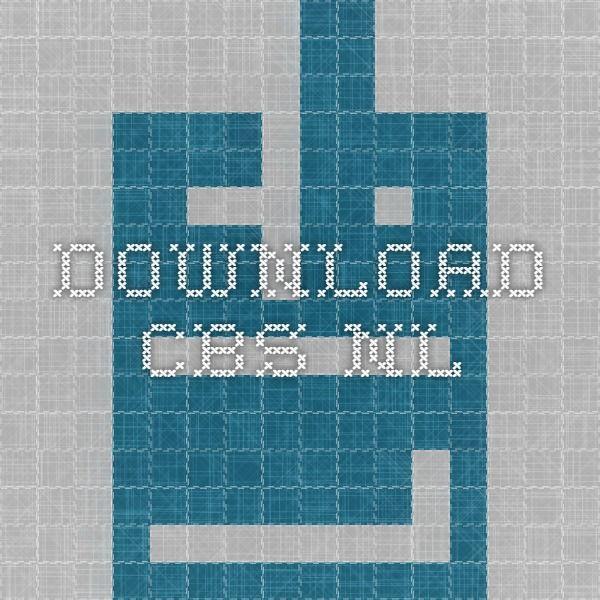download.cbs.nl