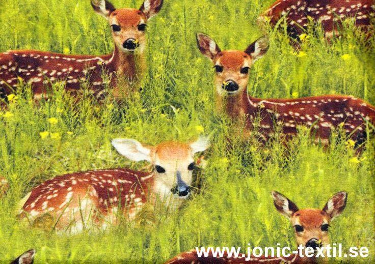 T652 Trikå ny bambi (digitaltryck)