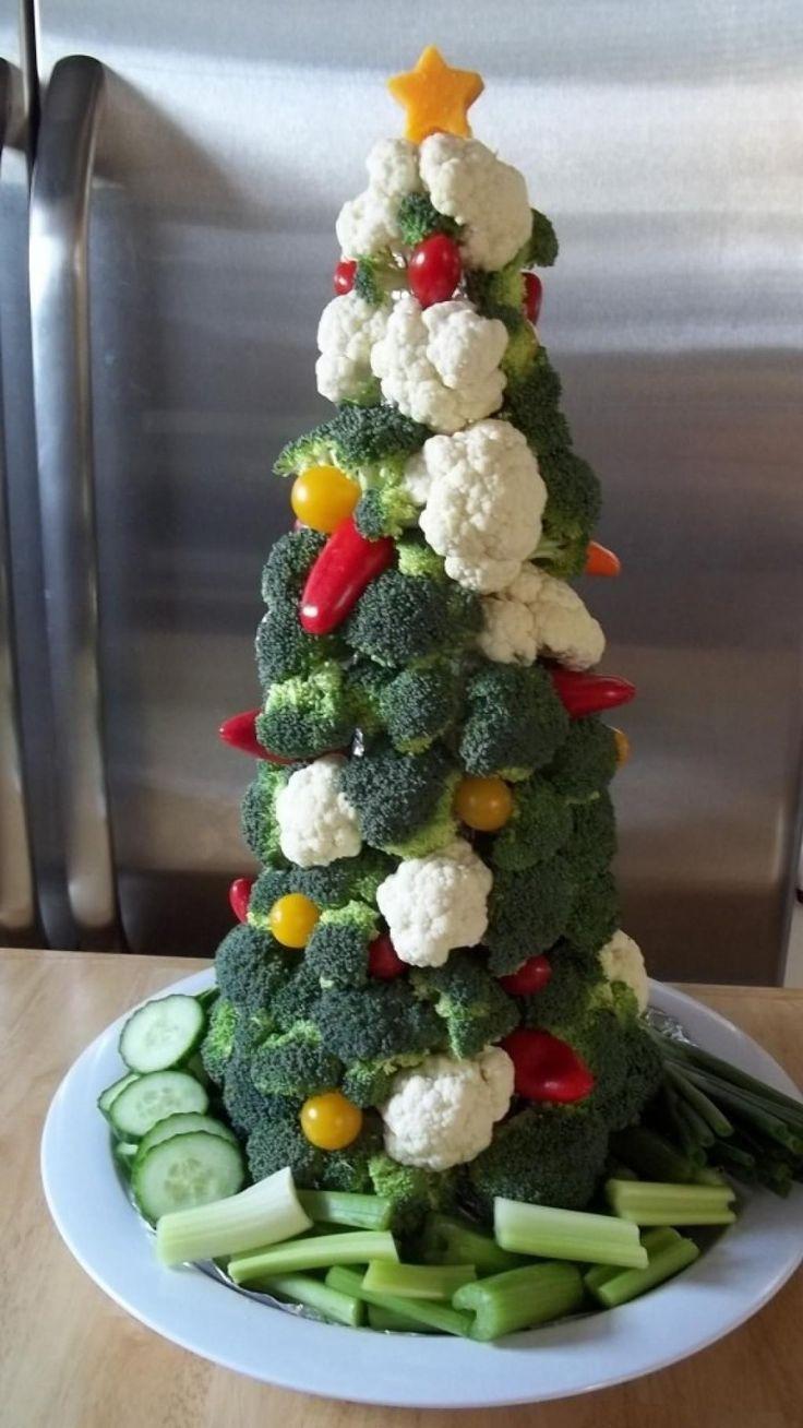 Plus de 30 plateaux de fruits et l gumes pour no l table de no l piece mont et fruit legume - Decoration legumes pour buffet ...