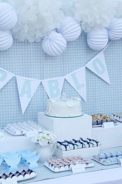 Haz que el bautizo de tu bebe sea un día perfecto con este tip para decorar. #bautizo #decoracion
