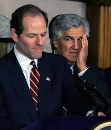 FOrmer NYS Governor Elliot Spitzer & Former Senate Majority Leader Joe Bruno