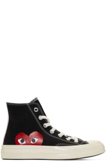 9ffd0d6fd704 Comme des Garçons Play - Black Converse Edition Chuck Taylor All-Star  70  High-Top Sneakers