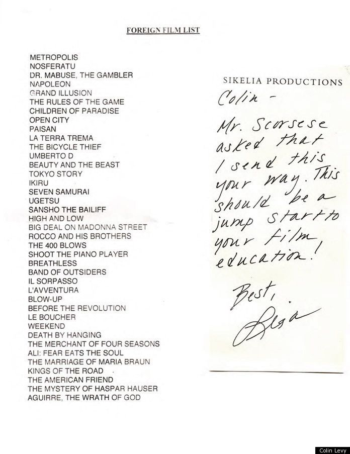 Martin Scorsese Foreign Film List: Director Recommends 39 Films To Young Filmmaker Colin Levy