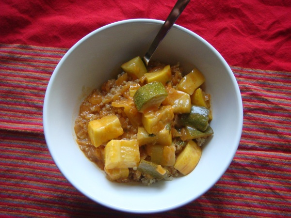 stew coconut curry lentil stew served over quinoa recipe yummly curry ...