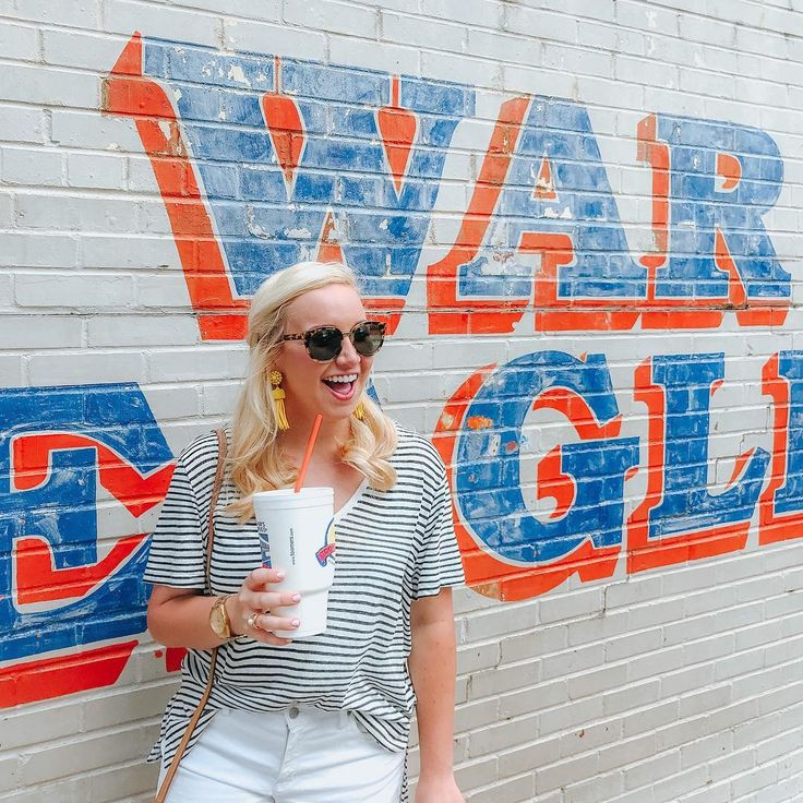 War Eagle + Toomer's Corner mural street art in Auburn