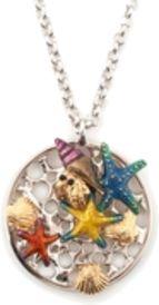 Bill Skinner Aquatic disc pendant, Multi-Coloured