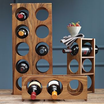 Wooden Wine Rack at West Elm $24-$29