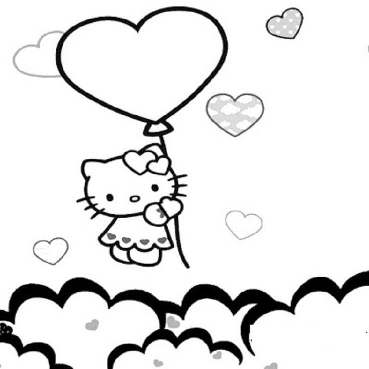 hello kitty nerd coloring pages printable   Coloring Pages ...