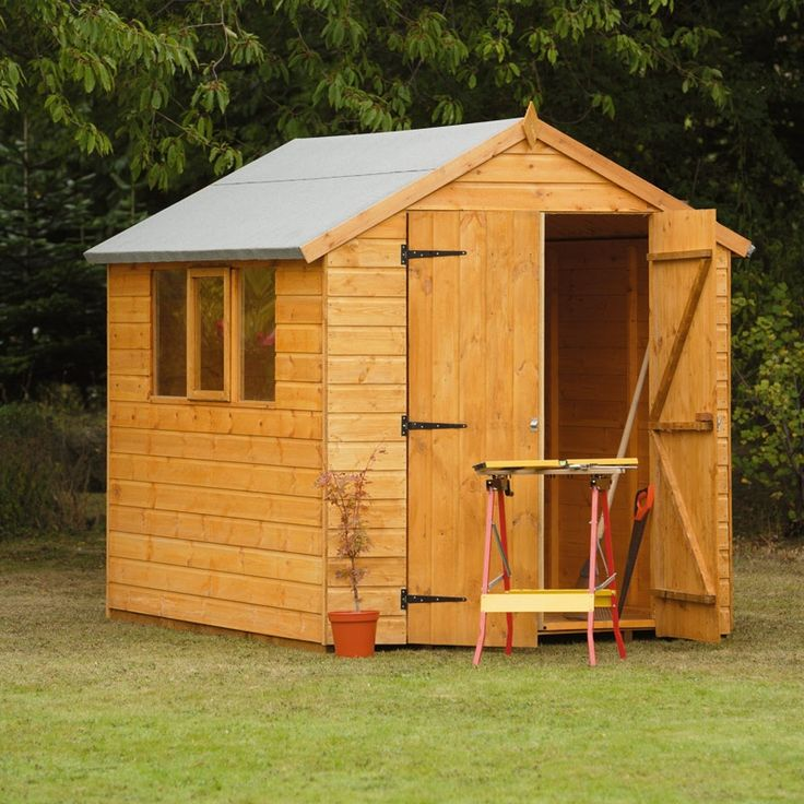 Best Wooden Storage Sheds Ideas On Pinterest Garden