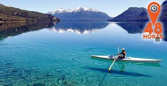 Lago Villa Traful. Meuquen. Patagonia. Argentina