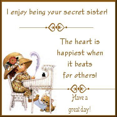 Secret Sister Cards | Something Special From Your Secret Sis