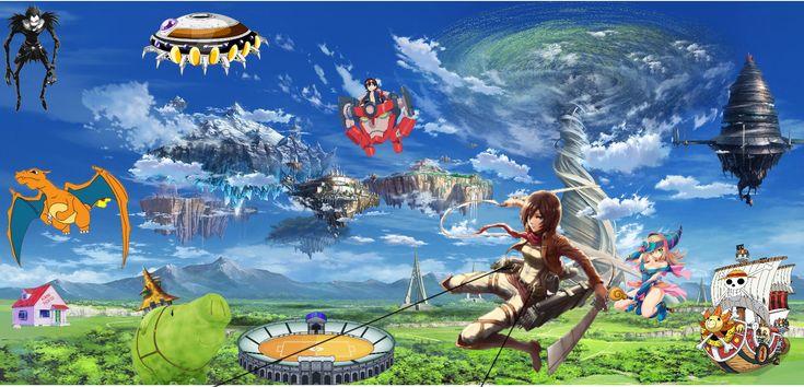 En cual desearías vivir tu?? | Anime | Fictional characters, Character, Zelda