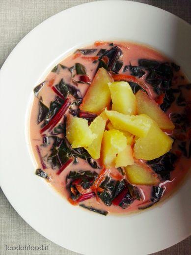 Botwinka - zuppa di erbette rosse polacca