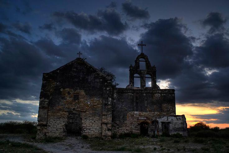 Pueblo fantasma. Guerrero Viejo, Tamaulipas.