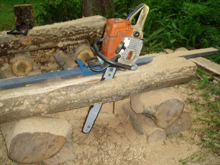 Chainsaw Mill - WoodWorking Projects & Plans