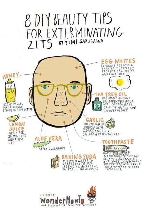Twitter / BestProAdvice: How to get rid of zits ...
