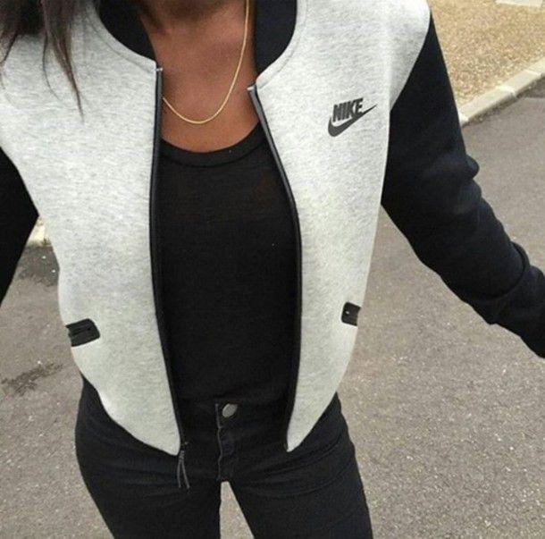 jacket nike dope varsity jackets
