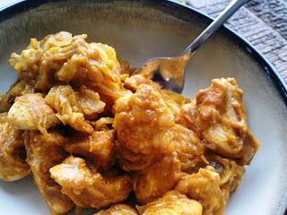 Pumpkin cream chicken casserole - the best