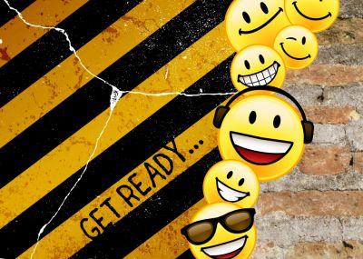 Lässig Witzige Einladung Zum Geburtstag Für Kinder Und Jugendliche Mit  Smileys