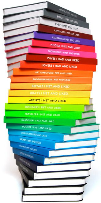 Love this!                                                   Now I just have to buy books with this color spectrum....oh yeah; & find a place to put them! ;)