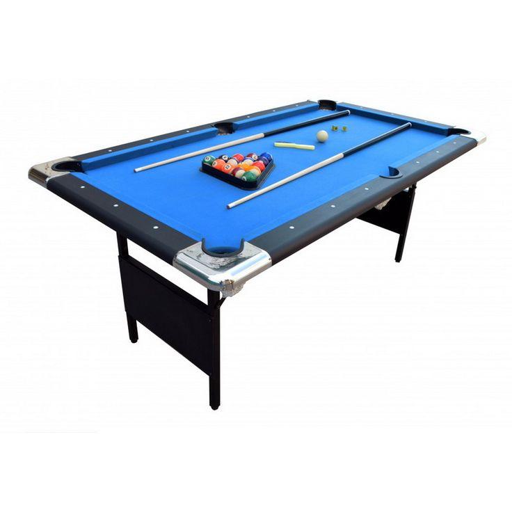 Opentip.com: Splashnet NG2574 Fairmont 6' Portable Pool Table