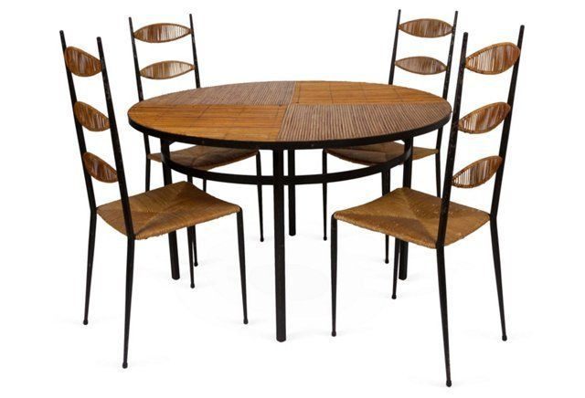 Colette Gueden Dining Set, 5 Pcs.