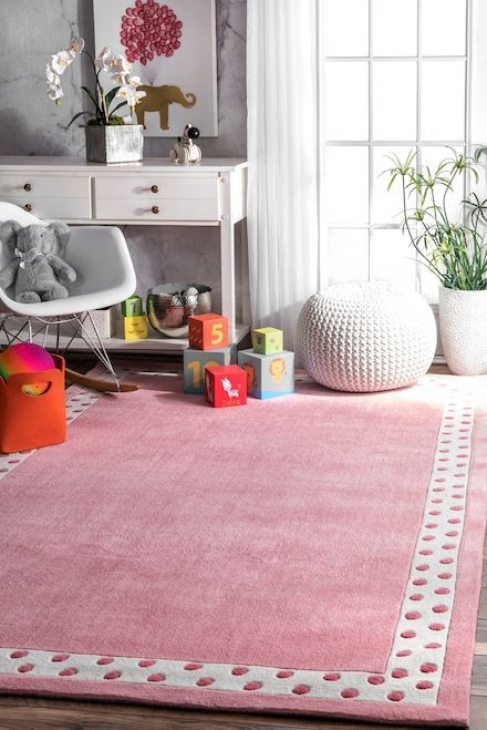 Give A Luxurious Look With This Comfortable And Cozy Rugs For Kid S