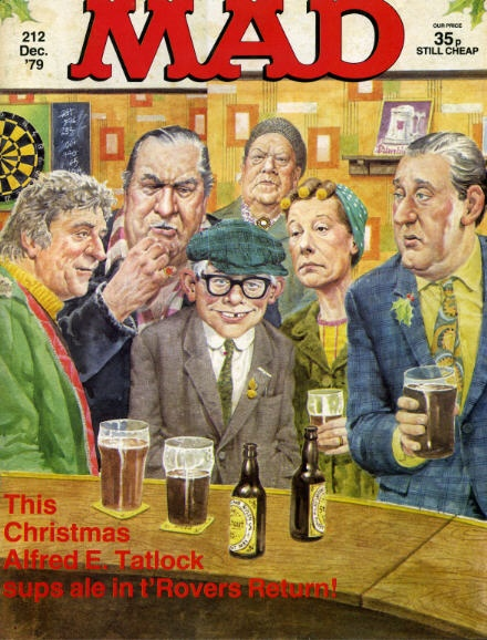 Mad Magazine UK (Coronation Street)