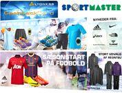 Velkommen til Sportmaster der nu giver rabat til vores kunder      SPORT-MASTER kæden er i dag Danmarks største kæde af sportsbutikker og det er derfor ikke uden stolthed vi kan fortælle, at De også giver rabat til medlemmerne.