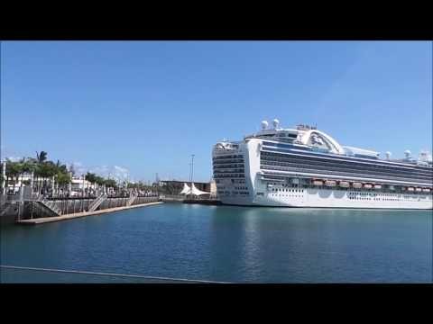El Crucero Emerald Princess en Las Palmas de Gran Canaria (21/09/2016)