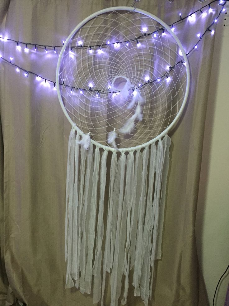 White wedding inspired Dreamcatcher