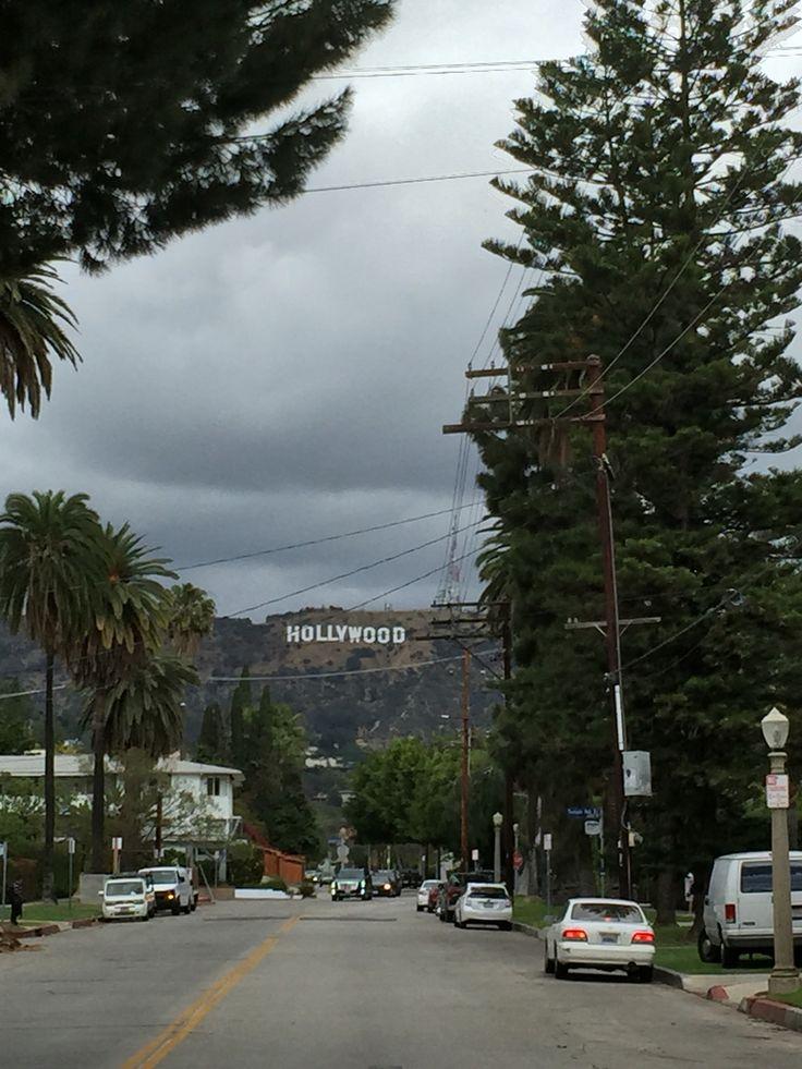 Cloudy Hollywood ☁️☁️⛅️