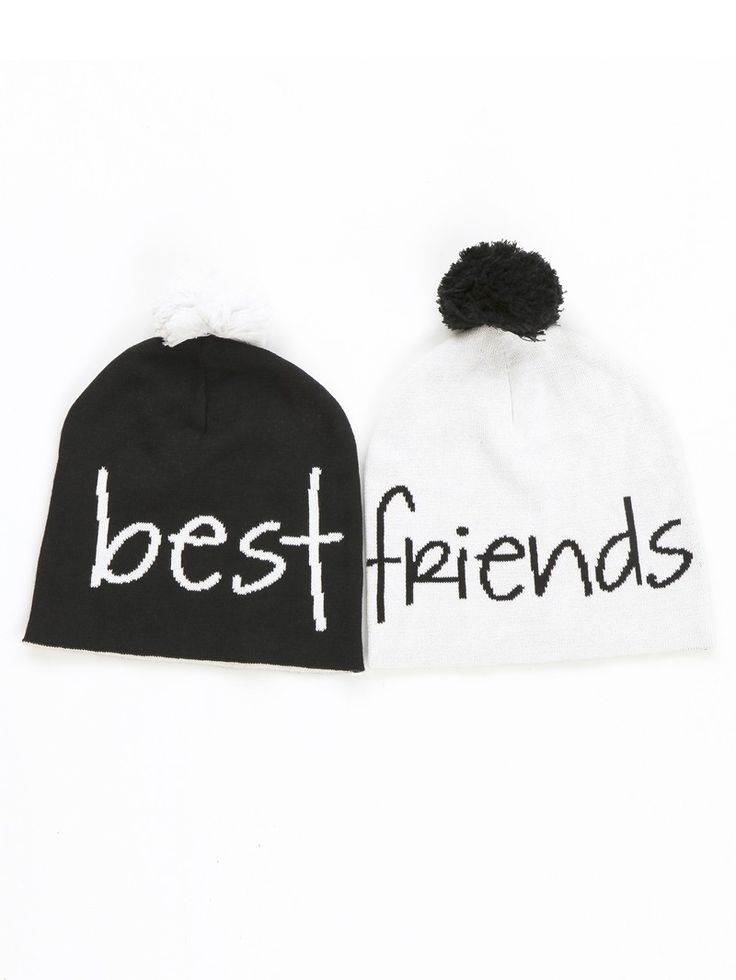 Best friends beanies - BFF