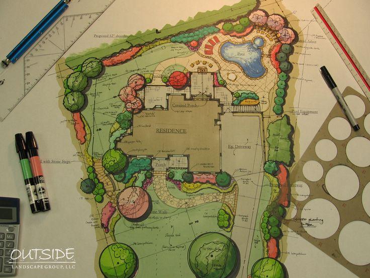 Landscape Design & Architecture in Alpharetta, Ga. | Outside Landscape Group, LLC