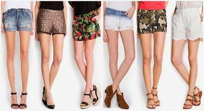 """Shorts: Una prenda fresca, actual y fácil de combinar; siempre han estado con nosotras y nunca pasan de moda. Cada año los pantalones cortos cogen mas fuerza para declararse prenda imprescindible. Son mi primera elección. De todos los modelos, encaje, degradé, con rotos, en colores tierra, con estampados... un básico cómodo y sobre todo """"fresquito""""."""
