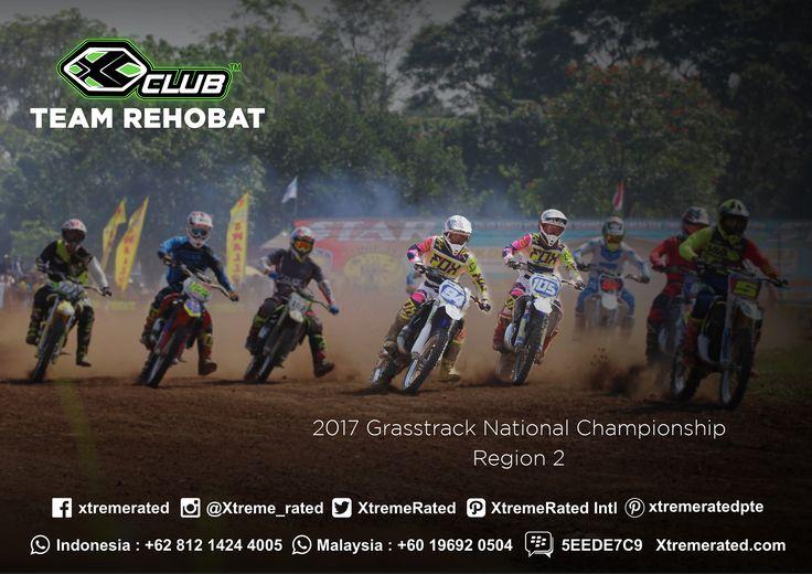 REHOBAT TEAM 2017 Grasstrack National Championship Region 2  #xtremerated #xclub #grasstrack #indonesia