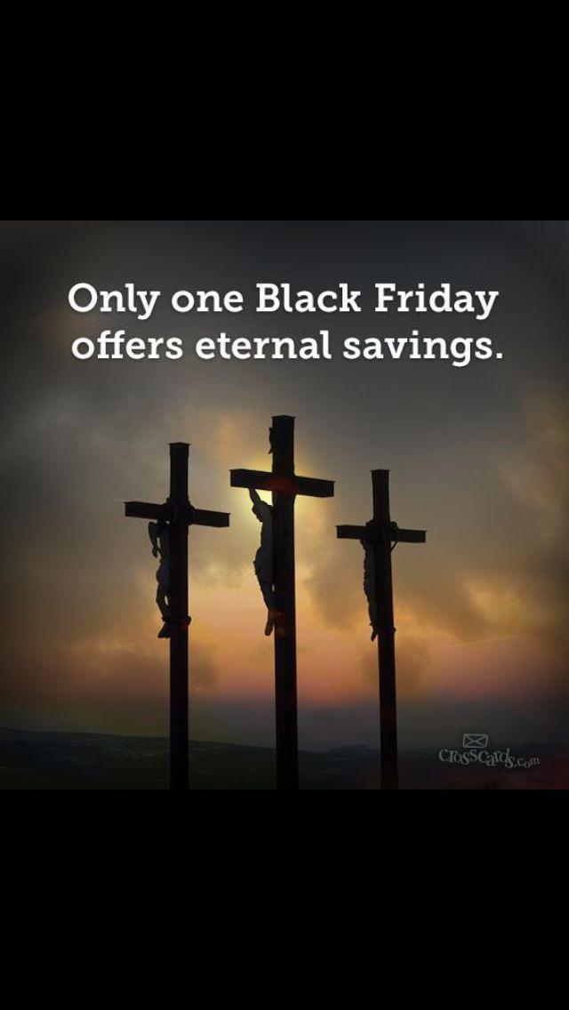 Black Friday Christian screen saver