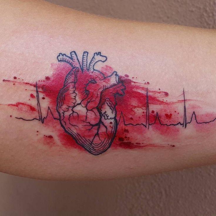 25 Interlocking Tattoo Designs Ideas: 25+ Best Ideas About Ekg Tattoo On Pinterest