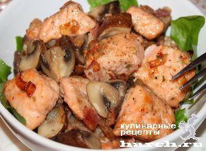 Рыбное жаркое с грибами, headline vtorye blyuda iz ryby vtorye blyuda