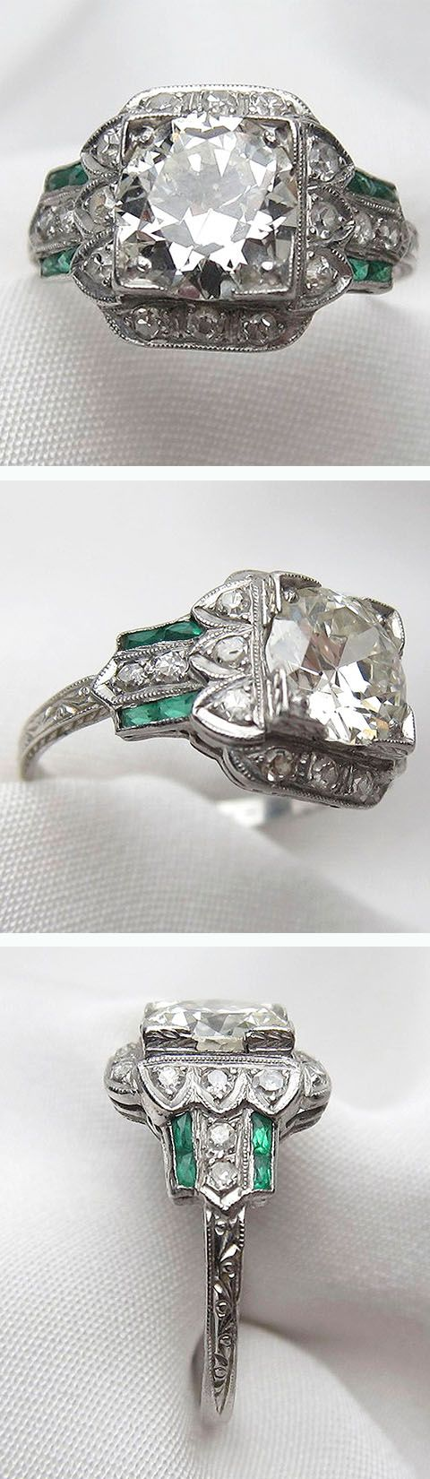Your dream vintage engagement ring. Curating vintage & antique jewelry since 1972, Isadoras.com.