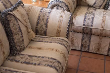 How to clean your couch without hiring a professional. YAY!